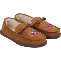 San Francisco 49ers Moccasin Slipper - Tan