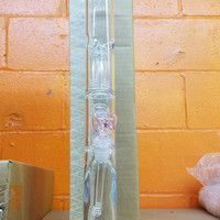 "Pink 18"" Glass Water Pipe"