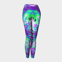 Flight, Compression fit performance Leggings, XS,S,M,L,XL, Hot Yoga Pants, Activewear Made in Canada