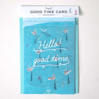 Good Time Pop-Up Greeting Card Lake