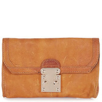 Tri Lock Leather Purse