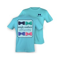 Palmetto Moon | Simply Southern Bow Tie T-Shirt | Palmetto Moon