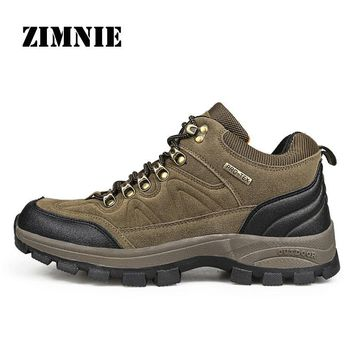 ZIMNIE Outdoor Sport Tactical Military Boots Hiking Shoes Walking Men Climbing Shoes Mountain Breathable Shoes For Hunting