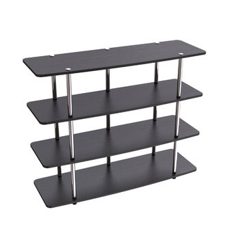 Convenience Concepts 131372 Designs2Go Black XL Highboy TV Stand