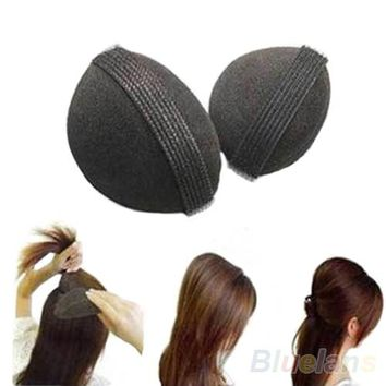 2PCS Girl Women DIY Hair Styling Magic Updo Tuck Comb Wear Hair Style Hairpin Comb 8XRK