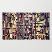 Books Area & Throw Rug by Whitney Retter