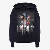 Paint Drip Hooded Sweatshirt | Alexander McQueen