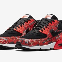 Atmos x Nike Air Max 90 We Love Nike Bright Crimson
