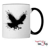 Street art bird Coffee & Tea Mug