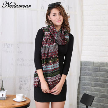 new 2016  fashion brand scarf women spring autumn and winter thin long scarves shawl cotton voile pashmina  hijab 180 * 90 CM