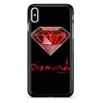 Diamond Supply Co Colorfull iPhone X Case