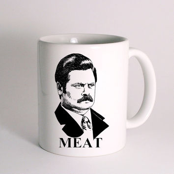 Ron Swanson for Mug Design