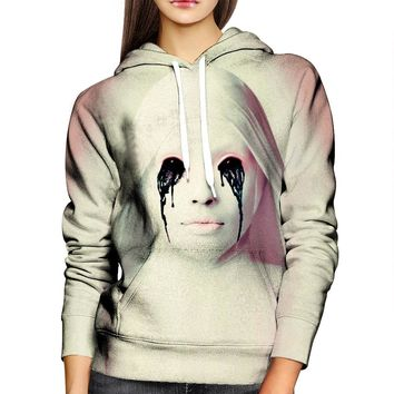 American Horror Story White Nun Womens Hoodie
