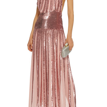 Filigree Halter Dress | Moda Operandi