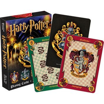 Harry Potter | House Crests PLAYING CARDS