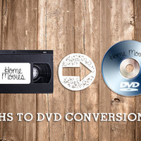 VHS to DVD Conversion