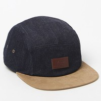 Vans Davis 5 Panel Denim Strapback Hat - Mens Backpack - Blue - One