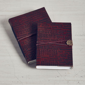 Bombay Diaries Leather Bound Journal