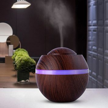 Ultrasonic Essential Oil Diffuser USB Powered 500ml