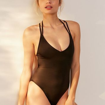 Out From Under Casey Strappy Back One-Piece Swimsuit | Urban Outfitters