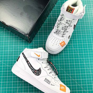 Just Do It Nike Air Force 1 Lv8 Mid Fashion Shoes - Best Online Sale