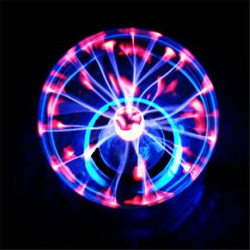 "Magic PLASMA BALL RETRO LIGHT 3 4 5 6"" inch Novelty Lights Gift Box Lighting Light lava Lamp Party Novelty products"