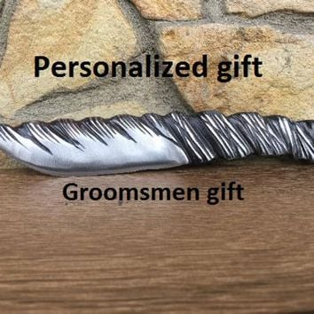 Viking knife, knife gifts, knife groomsman, knife groomsmen, knife goomsmen gifts, knive set, knife art, knife and axe, tools, iron gifts
