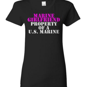 Marine Girlfriend - Property of a U.S. Marine marine-girlfriend