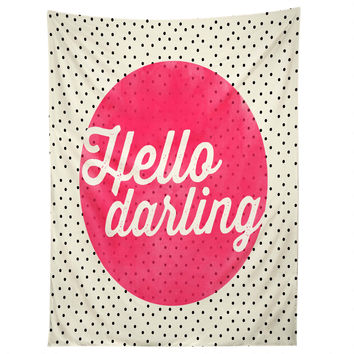 Allyson Johnson Hello Darling Dots Tapestry