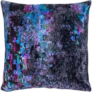 Glitch Pillow Kit - Black, Charcoal, Emerald, Violet, Bright Purple, Bright Blue - Poly - GTC002