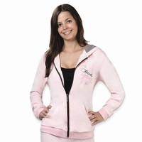 Bride Pink Hooded Jacket