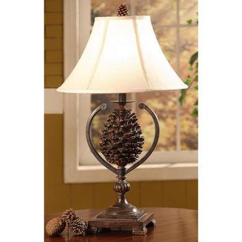 Crestview Collection  Cvamp341 Table Lamp, Whites / Creams, Resin