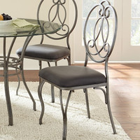 Steve Silver Furniture Ceasar Side Chair