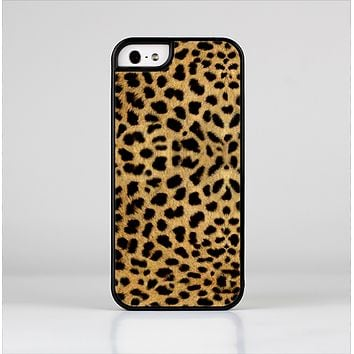 The Orange Cheetah Fur Pattern Skin-Sert Case for the Apple iPhone 5/5s