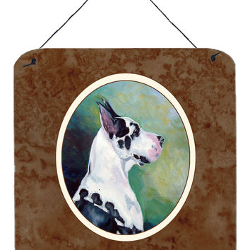 Harlequin Great Dane Wall or Door Hanging Prints 7278DS66