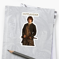 'Outlander/Jamie Fraser' Sticker by Sassenach616
