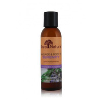Shea Natural Massage And Body Oil Serenity Lavender Rosemary 4 Oz