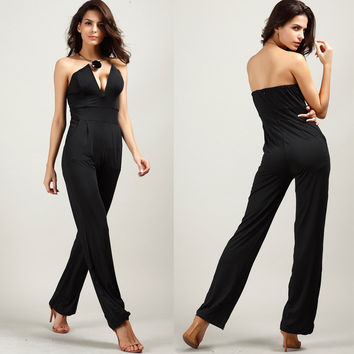 Hot Sale With Pocket Bra Jumpsuit [10239059603]