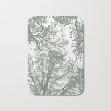 Abstract Trees Bath Mat by ARTbyJWP