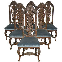 Set of Six Side Chairs
