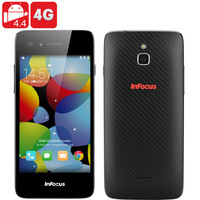 Infocus M2 4G Android Phone - Android 4.4, Quad Core CPU, 1GB RAM, 8GB Internal Memory, 4.2 Inch HD 355PPI Display (Black)