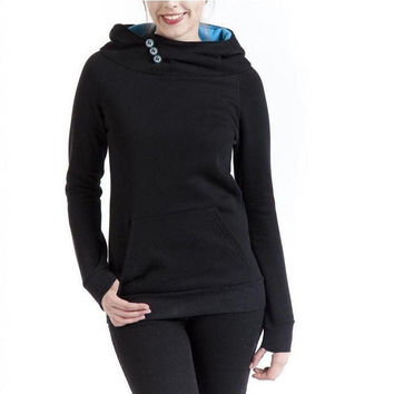 womens casual sweater autumn spring sports hoodie gift 24