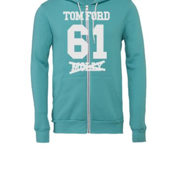 I ROCK TOM FORD - Unisex Full-Zip Hooded Sweatshirt