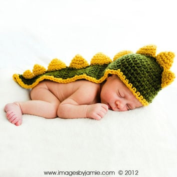 Twins Dinosaur Photo Prop, Twin Dragon Photo Prop, Year of the Dragon Photo Prop, Newborn Baby, 0 to 3 months