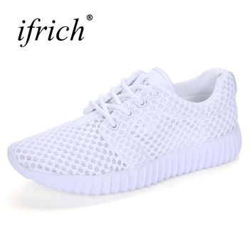 2017 Spring/Summer Nice Sport Shoes For Women Lightweight Mesh Running Sneakers Women Luxury Black Pink Walking Jogging Sneakers