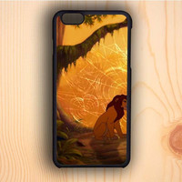 Dream colorful The Lion King Couple Design A iPhone 6 Case