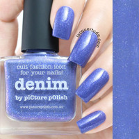 Picture Polish Denim Nail Polish