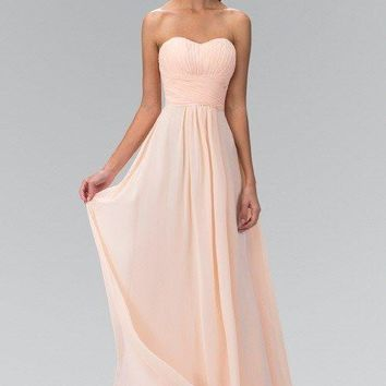 long chiffon bridesmaid dress 103-gl2070