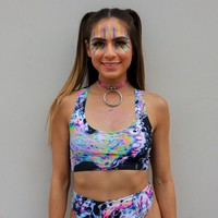 Acid Sky Sportiva Bra Top