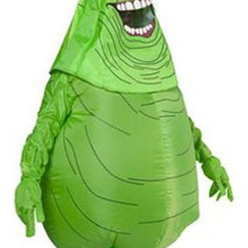 Ghostbusters Inflatable Slimer Costume Halloween Party Adult Inflatable Monster boys/girls fancy dress outfit dreadful ghost
